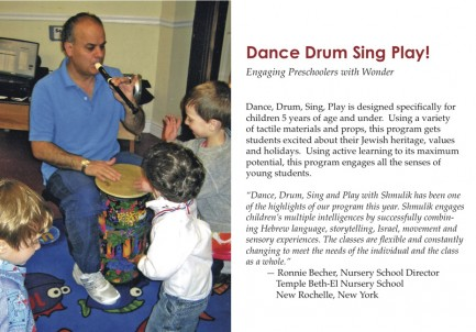 5 Dance Drum Sing Play