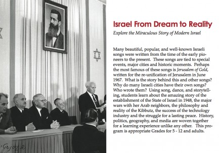 Israel From Dream To Reality